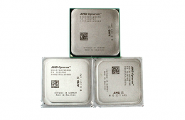 AMD Opteron 3380 and 2x Opteron 4376