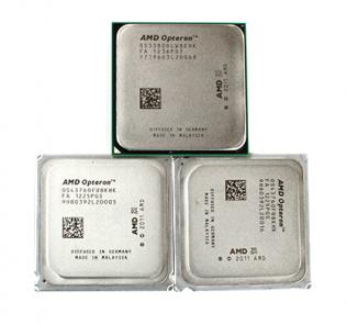 AMD Opteron 3380 and 2x Opteron 4376