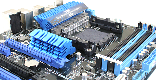 ASUS M5A99FX Pro R2 CPU Sockets