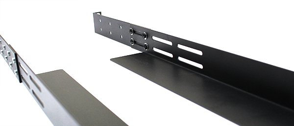 Gruber Rackmount Rails and Shelf Section Joints