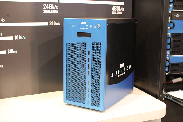 OWC Jupiter Mini SAS Tower Storage System