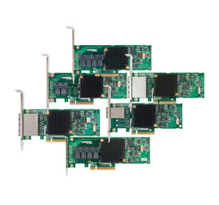 Adaptec 7H and 7He series SAS HBAs