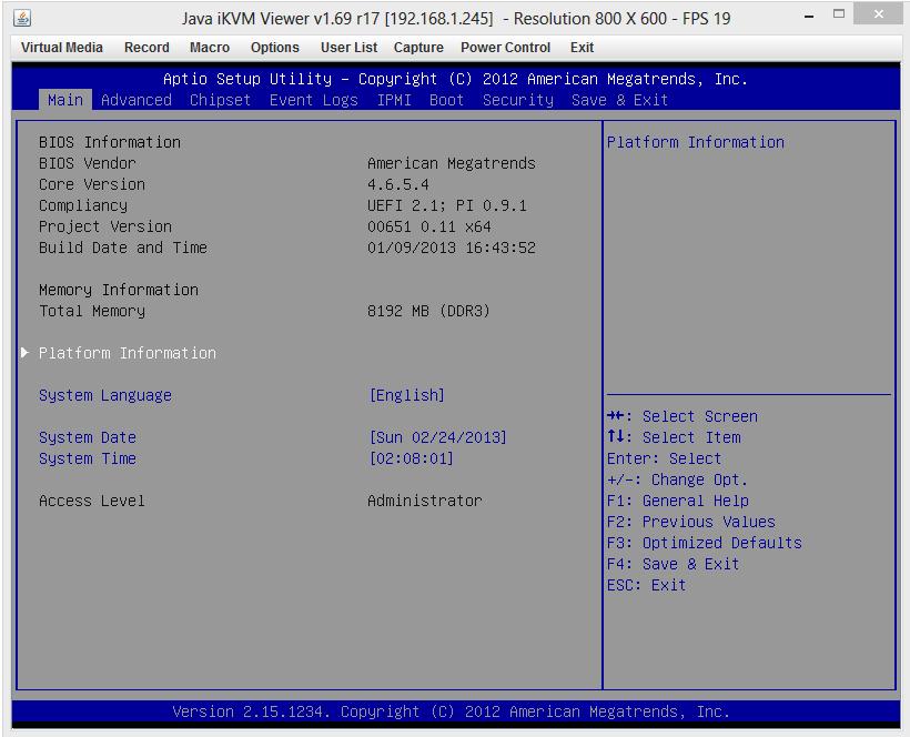 Supermicro 5017A-EF BIOS