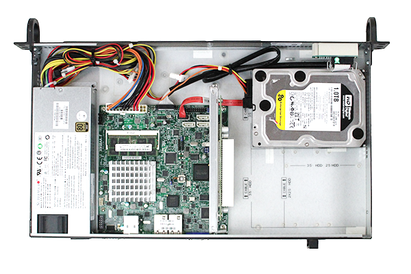 Supermicro 5017A-EF Interior