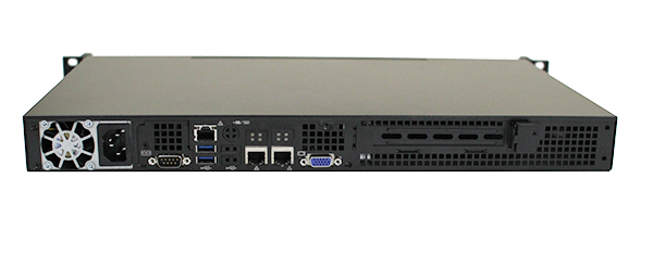 Supermicro 5017A-EF Rear