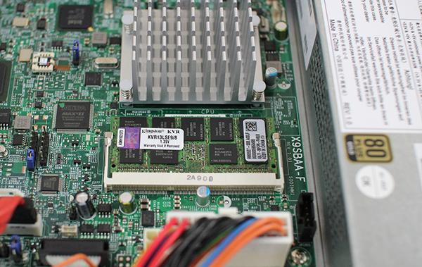 Supermicro X9SBAA-F Kingston 8GB ECC SODIMM