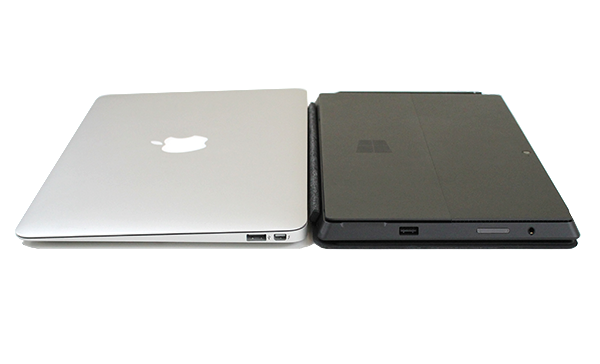 Microsoft Surface Pro v Macbook Air 11