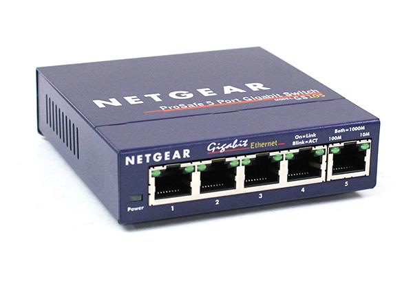 Netgear ProSafe GS105 Gigabit Switch Front