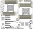Supermicro X9DRH-7TF Layout