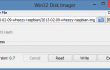 Win32 Disk Imager Raspbian Image Selection from Synology NAS