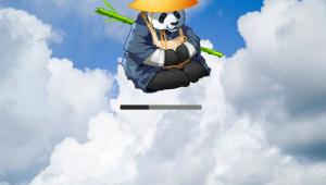 XCP Panda Loading Screen