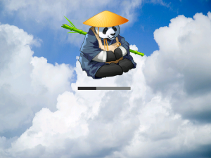 XCP Panda Loading Screen