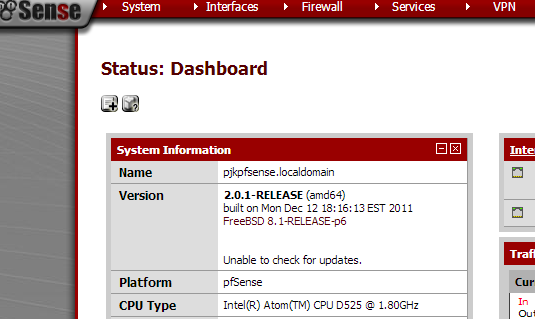 pfsense upgrade current version