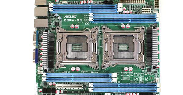 ASUS Z9PA-D8 CPU and Memory