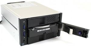 Icy Dock MB973SP-1B Hot Swap