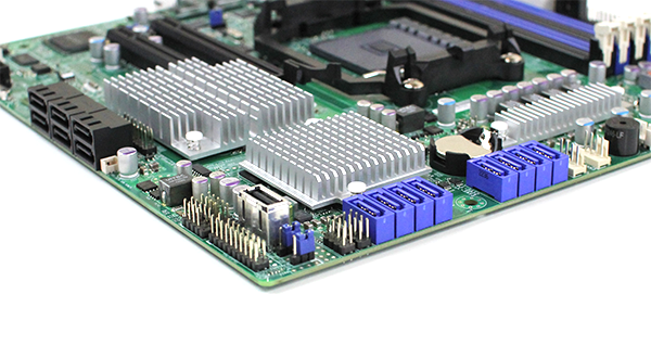 Supermicro H8SML-7F LSI SAS2308 Connectors