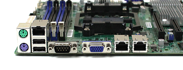 Supermicro H8SML-7F Rear IO