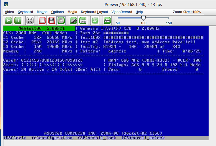Test Server Memory - Run Memtest86 Plus