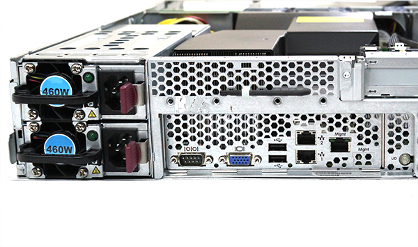 HP DL180 G6 Rear IO and Power Supplies - ServeTheHome