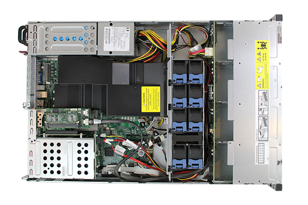 HP DL180 G6 Top View