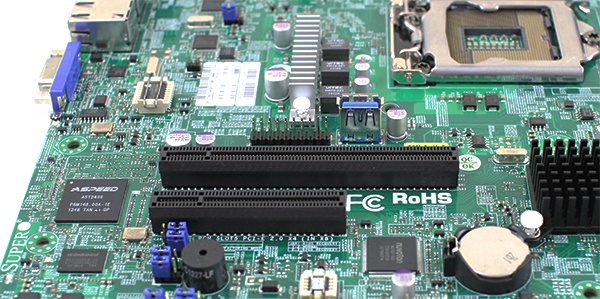 Supermicro X10SL7-F PCIe and Internal USB 3