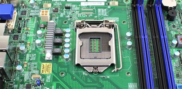 Supermicro X10SLQ CPU Socket