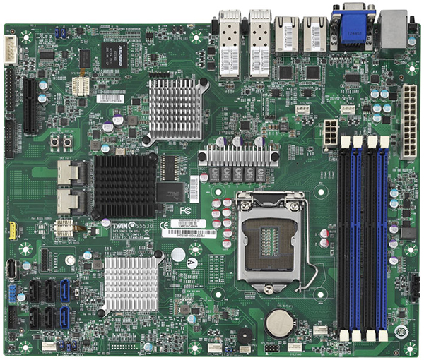 Tyan S5530 motherboard