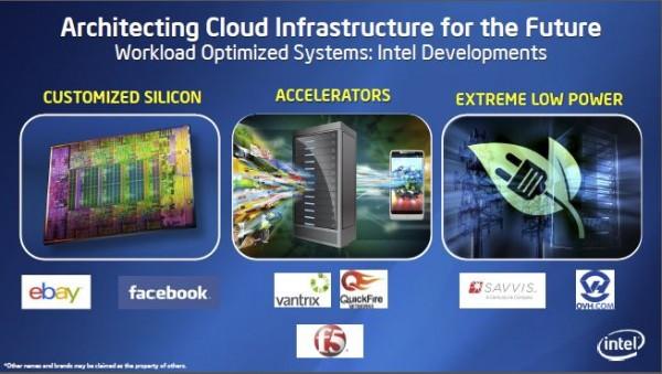 Intel Custom Silicon Re-imagine the Data Center 2013