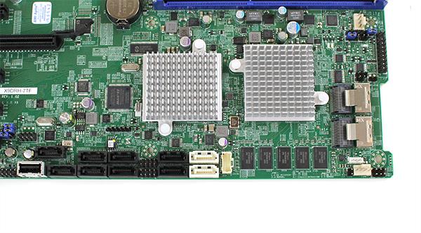 Supermicro X9DRH-7TF SATA SAS and Internal USB