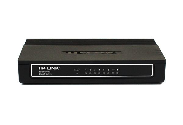 TP-LINK TL-SG1008D Front View