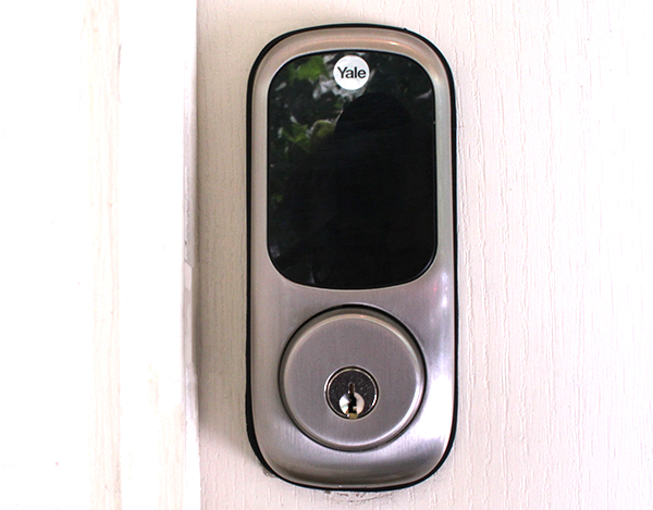 Yale Real Living Touchscreen Deadbolt - Installed