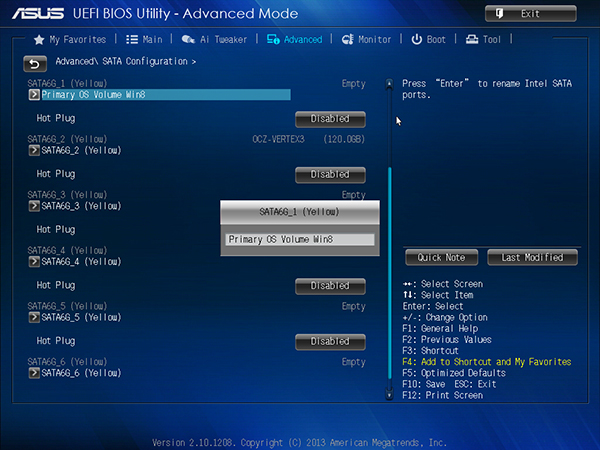 A look at the new ASUS UEFI BIOS