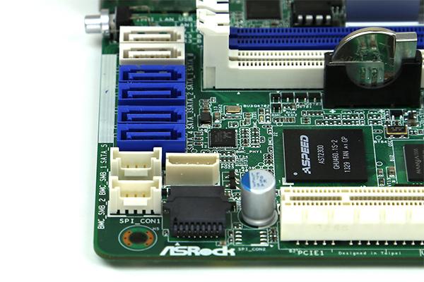 ASRock C2750D4I Onboard SATA Ports
