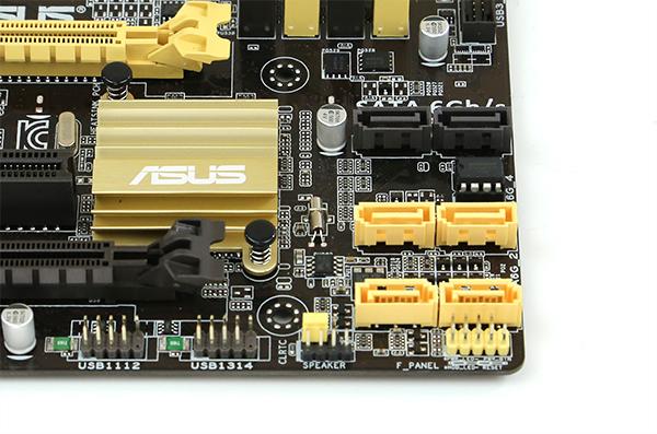 ASUS B85M-E CSM SATA Ports