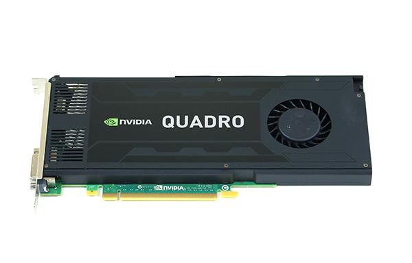 NVIDIA Quadro K4000 Top
