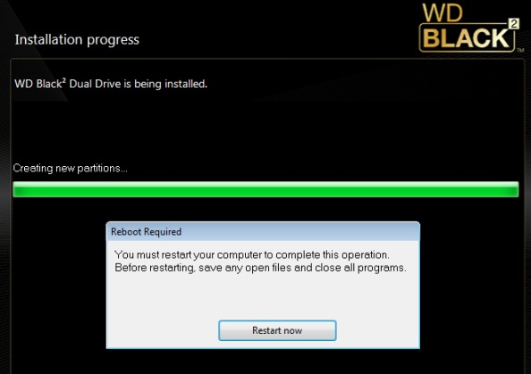 WD Black2 Software Install