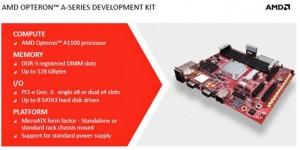 AMD Opteron A1100 Announcement Development Kit
