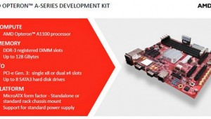 AMD Opteron A1100 Announcement Development Kit