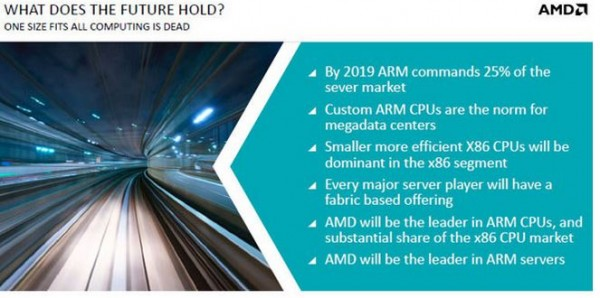 AMD Opteron A1100 Announcement Market Share