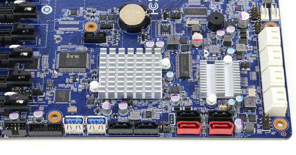 Gigabyte GA-7PESH3 LSI SAS Chip C602 SATA Connectors