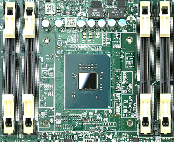 Intel Rangeley Avoton CPU Package
