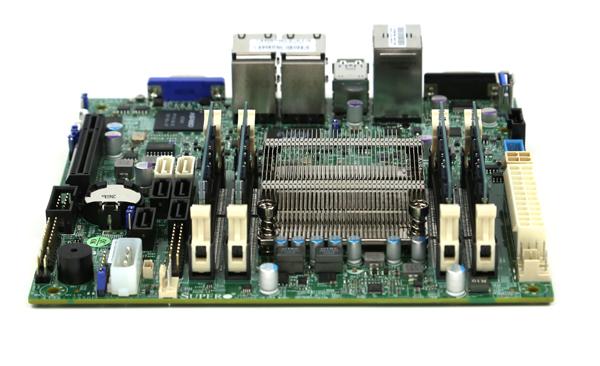 Supermicro A1SAi-2550F Heatsink and Airflow