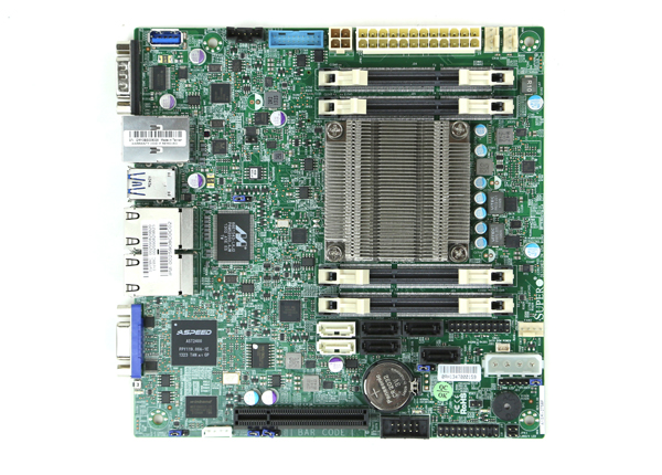Supermicro A1SRi-2758F Overview