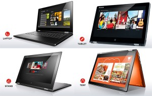 Lenovo Yoga 2 Pro Four Modes