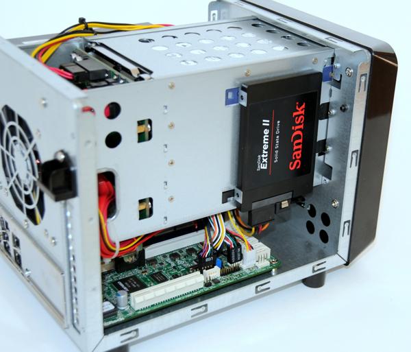 Norco ITX-S4 SSD Three Quarter