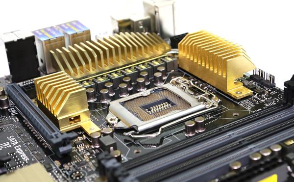 ASUS Z97-WS CPU Socket