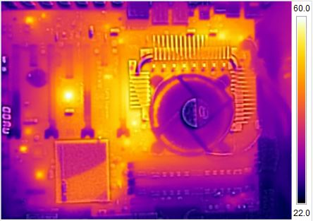 ASUS Z97-WS FLIR Thermal Imaging