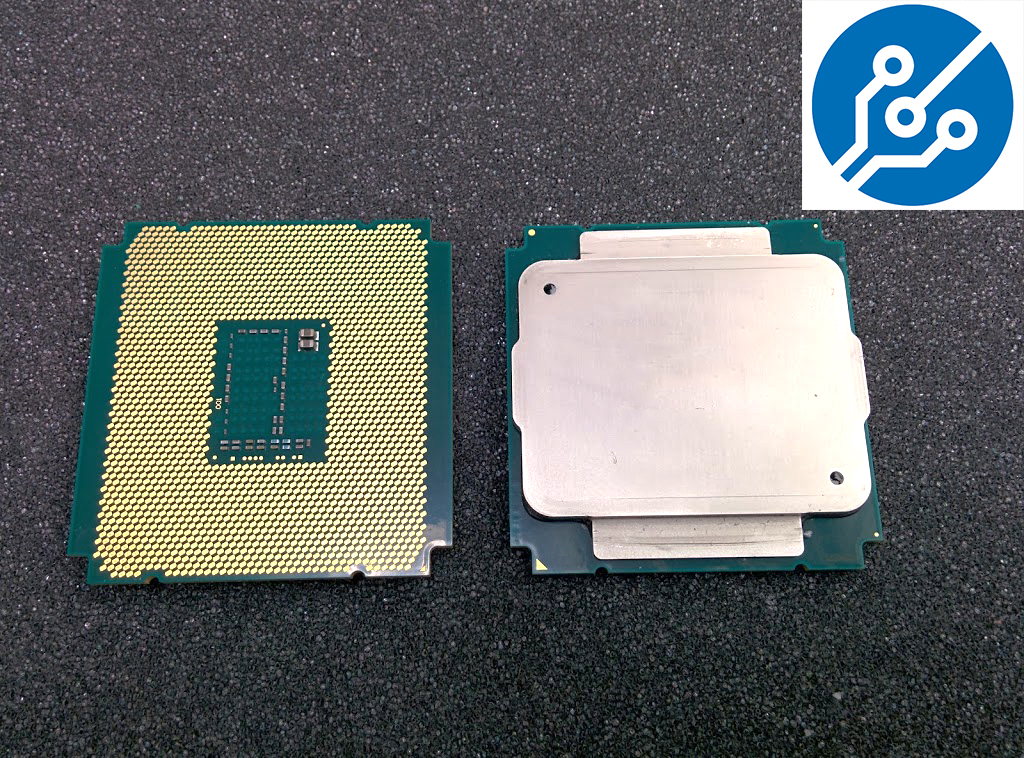 Intel Xeon E5 v3 Haswell-EP Top and Bottom