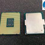 Intel Xeon E7 v2 Ivy Bridge-EX Top and Bottom