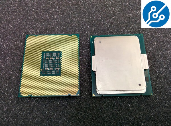 Intel Xeon E7 v2 Ivy Bridge-EX Top and Bottom